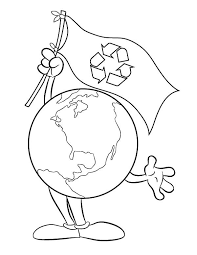 earth recycling garbage coloring pages free u0026 printable coloring