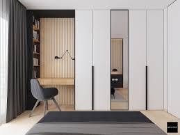 Modern Minimalist Bedroom Design Retro Nostalgia Style Adjustable Iron Lshade Led Jielde Wall