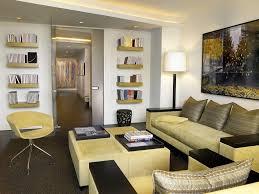 Living Room Recessed Lighting Basement Sectional Sofa Floating Shelves Ceiling Lighting