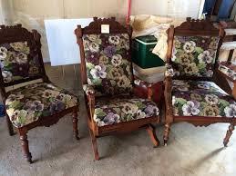 Vintage Hoosier Cabinet For Sale Antique Furniture Living Estate Sale Eastlake Set Hoosier