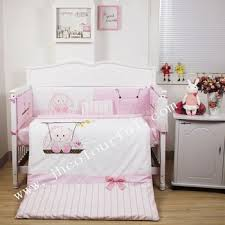 Swinging Crib Bedding Sets Lovely Swing Bunny Baby Bedding Sets In Pink Color Buy Baby Crib
