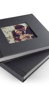 flush mount photo album zno linen cover flush mount album