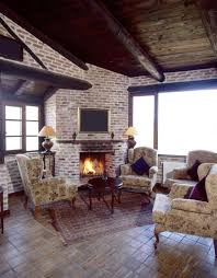 modern painted brick fireplace cpmpublishingcom
