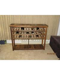 console table with wine storage tis the season for savings on wine rack sofa table console table