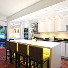 kitchen overhead lighting ideas kitchen ceiling lighting design fourgraph