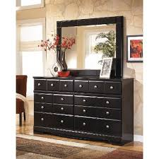 Shay Black Contemporary Dresser RC Willey Furniture Store - Rc willey black bedroom set