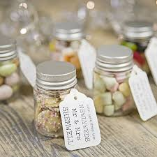 wedding favors personalized personalised wedding favour sweetie jar personalized wedding