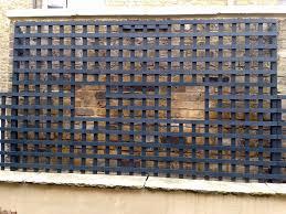 bespoke garden trellis screen for wall top london london garden blog