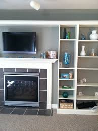 how to hide wires install tv above brick fireplace hide wires