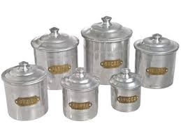 vintage metal kitchen canister sets 31 best canisters images on kitchen canisters vintage
