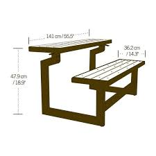 plastic convertible bench picnic table 56 best mesas 1 images on pinterest benches woodworking and