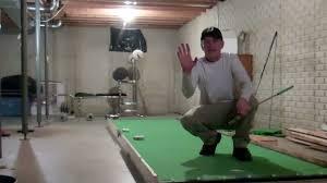 jeremiah u0027s basement putting green youtube