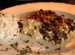 recette de cuisine poisson recette gratin de poisson à la forestière la cuisine familiale