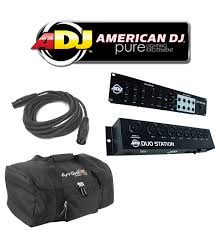 american dj duo station lighting controller american dj duo station 3ch rgb led control 8ch on off switch
