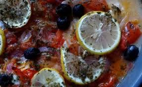 cuisine grecque recettes de poisson au four et de cuisine grecque
