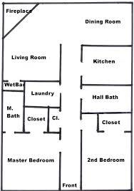 100 2 bedroom ranch floor plans lovely retirement house