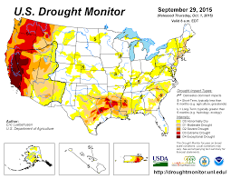 california map drought drought september 2015 state of the climate national centers