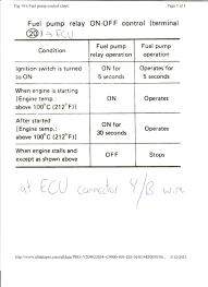 nissan titan ecm relay 1986 nissan 300zx fuel pressure fuel pump relay ecm stay running