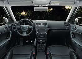 skoda yeti interior skoda introduces the yeti laurin u0026 klement special edition