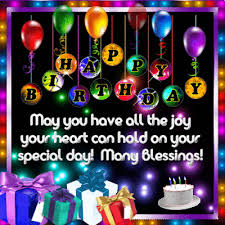 Happy Birthday Happy Birthday And Many Blessings Free Happy Birthday Ecards