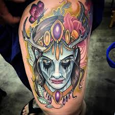 115 best thigh tattoos ideas for designs meanings 2018