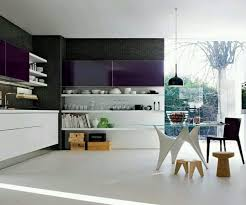 imposing graphic of top white kitchen table and coloured chairs