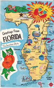 Florida Map Image by 50 Best Vintage Maps Images On Pinterest Vintage Maps Road Maps