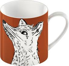 fox mug into the wild fox mug suffolk wildlife trust