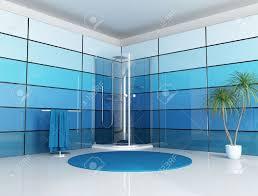 Salle De Bain Bleu Et Blanc by Paroi Verre Banque D U0027images Vecteurs Et Illustrations Libres De