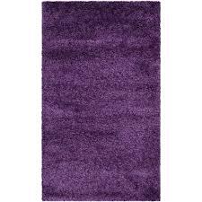 Purple Shag Area Rugs Safavieh Arizona Shag Purple 8 Ft X 10 Ft Area Rug Asg820p 8