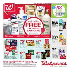 walgreens weekly ad pharmacy nov 5 11 2017