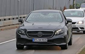 2018 mercedes e class coupe caught mostly undisguised autoguide