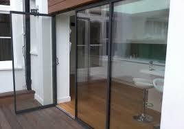 frameless glass exterior doors finlinedoors innovative glass door solutions
