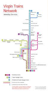 Map Of West Coast West Coast Main Line Virgin Trains