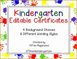 kindergarten certificates 7 kindergarten certificate free printable besttemplates