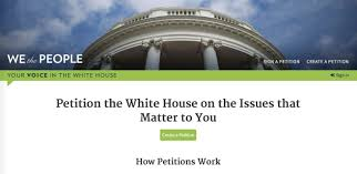 an antivaxer starts a whitehouse gov petition for a five year