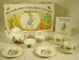 wedgwood rabbit tea set vintage 10 rabbit children s tea set by wedgwood in