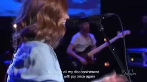 steffany gretzinger on the shores from a bethel tv worship set