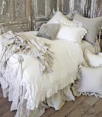 vintage ruffle duvet cover from full bloom cottage first house