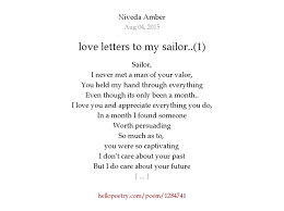 letters to my letters to my sailor 1 by niveda hello poetry