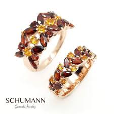 schumann cuisine garnet with yellow citrine schumann