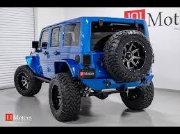 jeep wrangler 4 door blue 2015 jeep wrangler unlimited rubicon for sale in tempe az stock