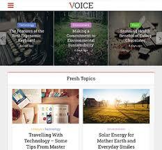 design magazine site voice material design wordpress theme for news magazine site meks