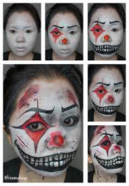 killer clown halloween makeup kirei makeup