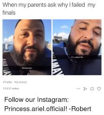 Funny Twitter Memes - 25 best memes about ariel dj khaled fail finals funny