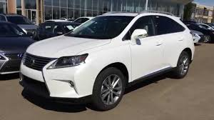 lexus rx 350 hybrid 2015 lexus rx 350 awd white on parchment technology package