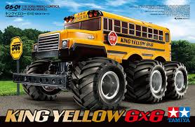 bus monster truck videos big yellow bus king yellow 6x6 g6 01 from tamiya rc driver