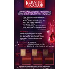 Color Up Schwarzkopf Keratin Anti Age Hair Color Warm Mahogany 5 6 2 03