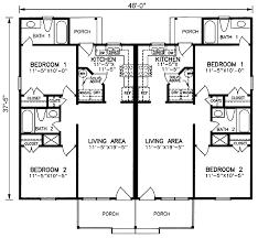 family floor plans multi family plan 45347 at familyhomeplans