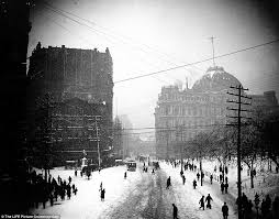 Worst Blizzard In History by Pictures From The Worst Winter Blizzards In New York City History